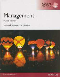 Management Twelfth Edition Pearson