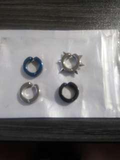 無痛夾耳環一隻(有4款可供選擇)