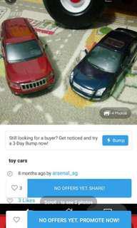 Toy car 1/24