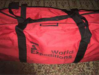 World expeditions bag