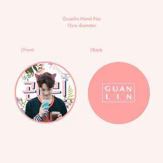Wanna One Fankit : Guanlin Jihoon Daniel