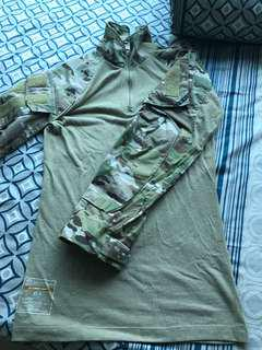 Crye Precision Gen 3 Combat Shirt Multicam XS