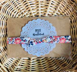 Felicite // Knotted Headband   Baby Girl Headband   Handmade