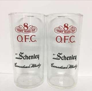 Vintage Whisky Glasses