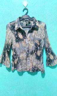 Preloved Floral print long sleeves