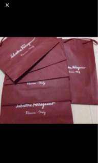 Authentic Salvatore Ferragamo Paper bag