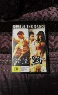 Step up 1 & 2 DVD set