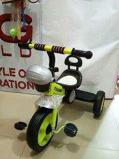 Sepeda Sinchan dengan musik