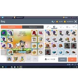 Maplestory M  NL CP 100K+