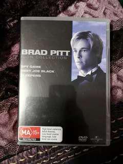 Brad Pitt DVD box set collection