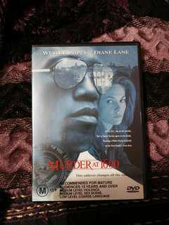 Murder at 1600 dvd