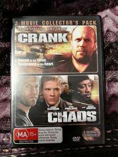 Crank and Chaos Dvd set