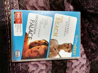 The beach and brokedown palace dvd set
