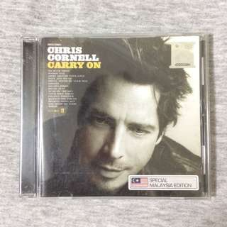Chris Cornell : Carry On Album CD (2007) Special Malaysia Edition