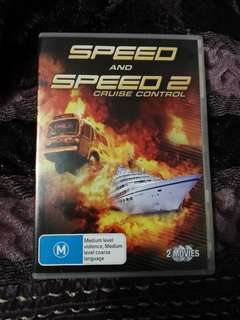 Speed 1 & 2 dvd collection