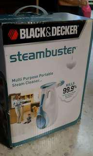 NEW Black & Decker SteamBuster FSS1600