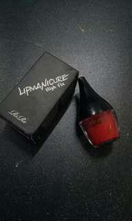 Rire lip manicure muse red