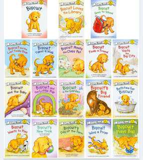 I Can Read.. the Biscuit 18 books,2 CD
