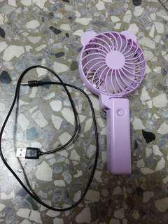 髮飾、豹紋鏡框、紫色手持電風扇、日本easy off食物纖維(可換物)