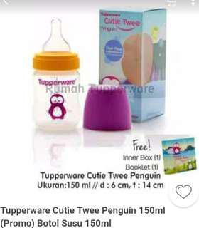Cutie twee penguin botol dot