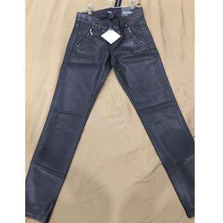 WHBM Women's Black Saint Honore Skinny Zippered Jeans Size Petite 0