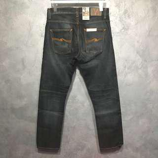 BNWT Nudie Jeans Dude Dan Ink Orange