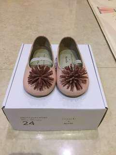 Baby Girl Shoes - ValenciaxMoonella (Size 24)