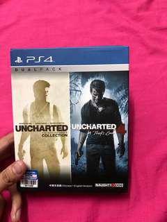 Dual pack uncharted 4 & Drake collection