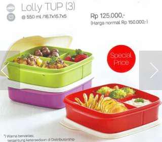Lolly tup tempat makan