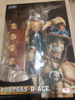 One Piece Figure portgas d ace 艾斯 pop dx