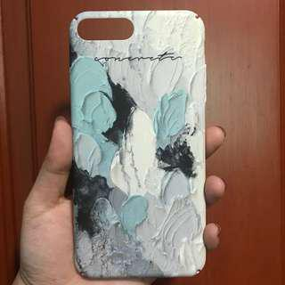 🚚 Graphic paint iPhone 7+ case