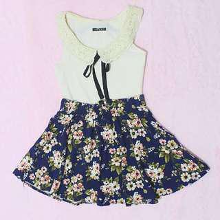 Cotton Floral Skirt
