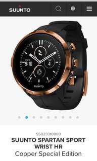 Original Suunto Spartan Sport Wrist HR Copper Special Edition ( smartwatch / sportwatch)