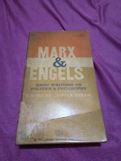 Marx & Engels: Basic Writings on Politics & Philosophy