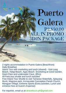 Puerto Galera 3D2N