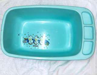 2手。Combi 藍色澡盆🔺體積較大限面交無法郵寄🔺