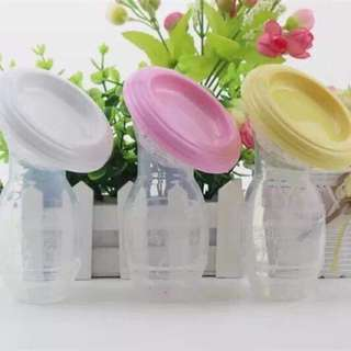 Silicone Breastfeeding Manual Breast Pump
