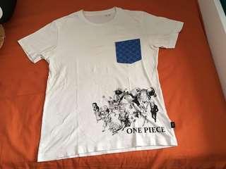Uniqlo One Piece Mugiwara Pirates Men T-Shirt