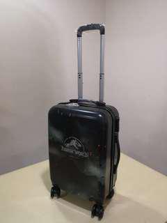 Jurassic world limited edition cabbin hand carry trolly luggage bag