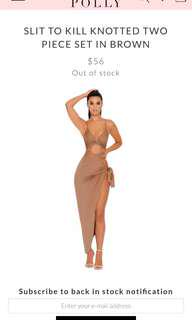 Size 6-8 | Oh polly slit to kill set