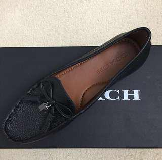 {REDUCED} COACH Black Loafer