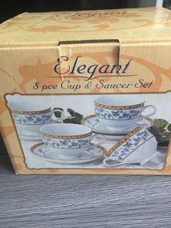 花茶杯set