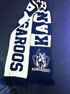 AFL North Melbourne Kangaroos Supporter Scarf