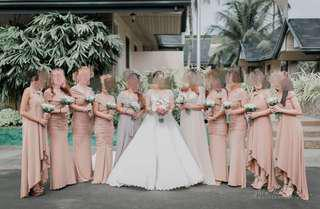 Bridesmaids Gown / Junior Bridesmaids Gown / Wedding Gown for Rent