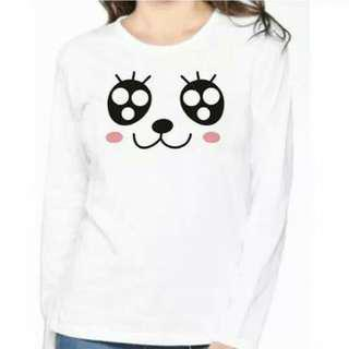 Kaos wanita big eye panda