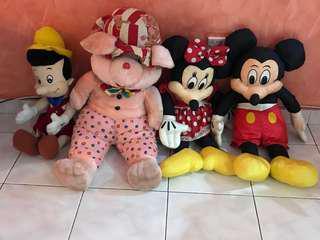 4 toys