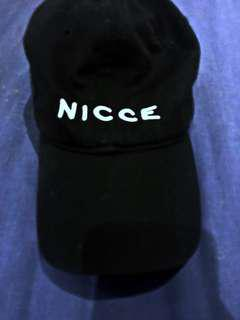 Black NICCE London Cap