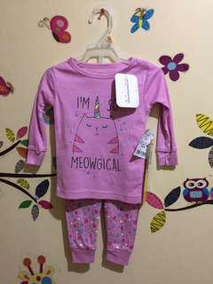 BN 4 PCs Little Star sleepwear 12M