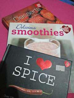 I Love Food Series Cookbooks