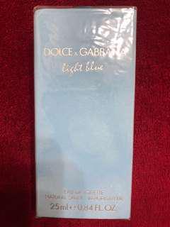 Dolce&Gabbana light blue authentic